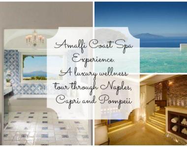 Amalfi Coast Spa Experience. A luxury wellness tour through Naples, Capri and Pompeii