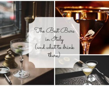 The Best Bars in Italy as chosen by the World's 50 Best Bars Awards (and what to drink there)