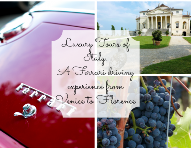 Luxury Tours of Italy: A Ferrari driving experience from Venice to Florence