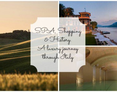 SPA, Shopping & History. A luxury journey through Italy