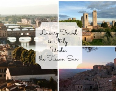 Luxury Travel in Italy. A chauffeured tour under the Tuscan Sun