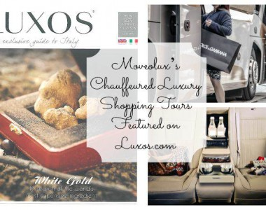 Moveolux's Chauffeured Luxury Shopping Tours Featured on Luxos.com
