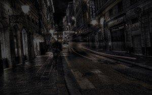city-black
