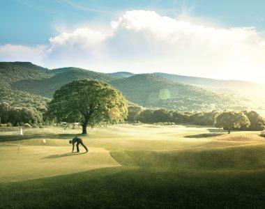 Exclusive golf resort in Italy
