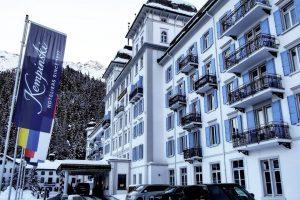 Chauffeur Service in Sankt-Moritz