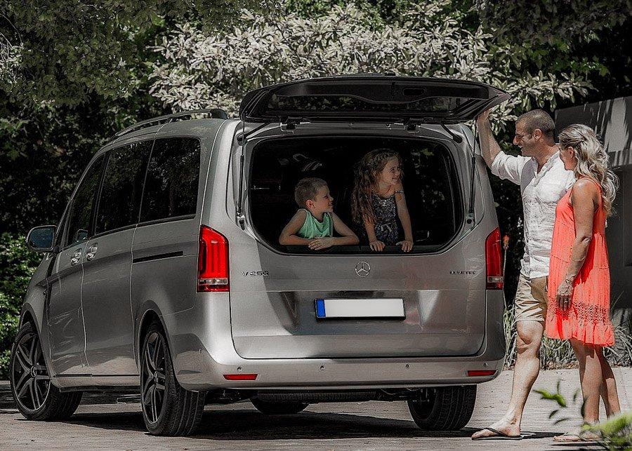Car Rental Minivan  Mercedes Viano
