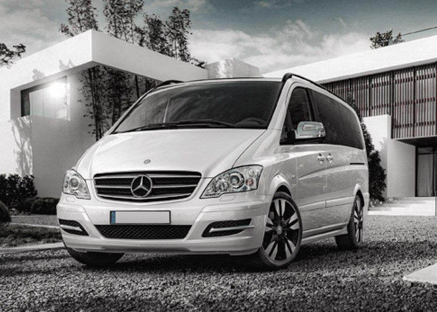 Car Rental Minivan  Mercedes Vito