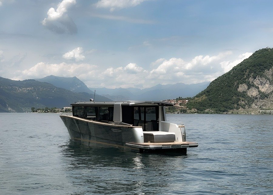 Lake Como Water Taxi  Riva Boat